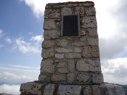 Monte Ortigara- il cippo austriaco a mt. 2086