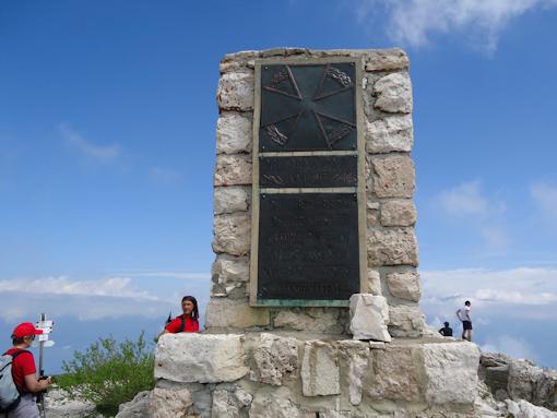 Monte Ortigara - cippo austriaco