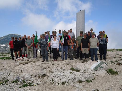Monte Ortigara - foto ricordo
